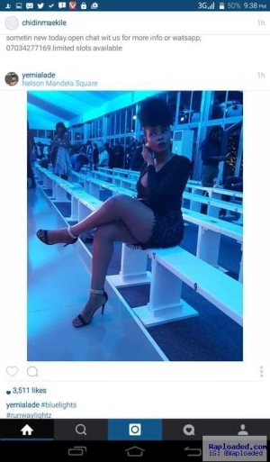 Yemi Alade Puts Her Cleavage And Thigh On Display In Sexy New Photo Shots